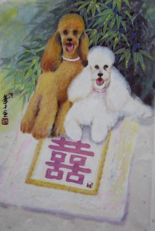A Pair Of Poodles
